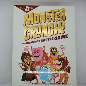 Monster Crunch Cereal Game New